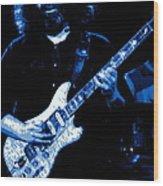 Jerry Rocks Wood Print