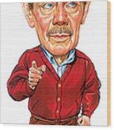 Jerry Stiller As Frank Costanza Wood Print