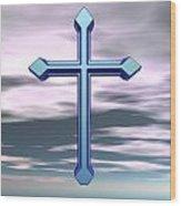 Jerrys Cross  Wood Print