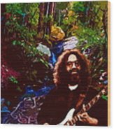 Jerry's Mountain Music 3 Wood Print