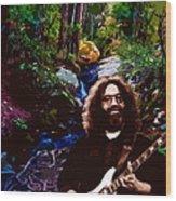 Jerry's Mountain Music 8 Wood Print