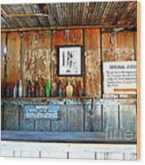 Jersey Lilly Saloon Wood Print