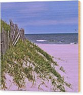 Jersey Shore 11 Wood Print
