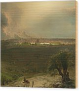 Jerusalem From The Mount Of Olives Wood Print