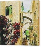 Jerusalem Old City Wood Print