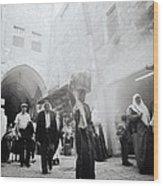 Old City Of Jerusalem Wood Print