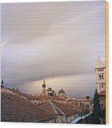 Ethereal Jerusalem Wood Print
