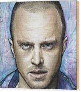 Jesse Pinkman - Breaking Bad Wood Print by Olga Shvartsur