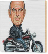 Jesse Ventura Wood Print by Art