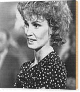 Jessica Lange In Country  Wood Print