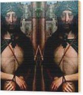 Jesus At The Met Wood Print
