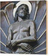 Jesus Cathedral Icon -  Spokane Washington Wood Print
