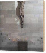 Jesus Chapel Icon - San Francisco Wood Print