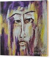 Jesus Wood Print