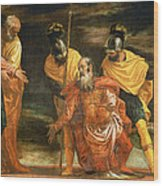 Jesus Healing The Servant Of A Centurion Wood Print