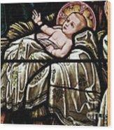 Jesus Is Born Wood Print