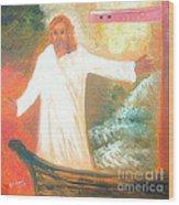 Jesus Is The Christ Messiah Wood Print