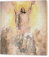 Jesus Loves You 2 Wood Print
