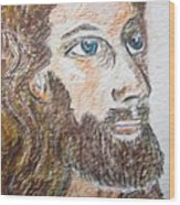 Jesus Our Saviour Wood Print