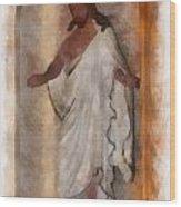 Jesus Photo Art Wood Print