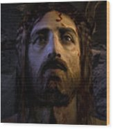Jesus Resurrected Wood Print