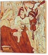 Jesus Smile Wood Print