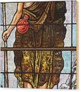 Jesus Son Of God Wood Print