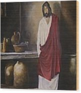 Jesus- The First Miracle- Wood Print