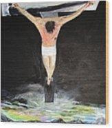 Jesus The Ultimate Sacrifice Wood Print