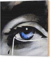 Tear Drop Wood Print