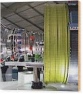 Jet Aircraft Engine Wood Print