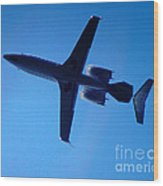 Jet Set Wood Print