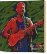 Jethro Tull-96-a21-fractal Wood Print