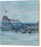 Jetstar Wood Print by Anita Riemen