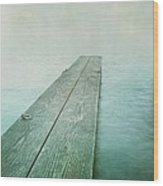 Jetty Wood Print by Priska Wettstein