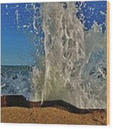 Jetty Splash 8 10/1 Wood Print
