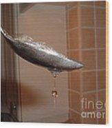 Jewel Drop Wood Print