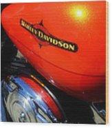 Jewel Of Bikes Motorcycles Wood Print