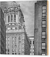 Jewelers' Building - 35 East Wacker Chicago Wood Print