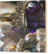 Jewels Artwork Of The Gods Wood Print by Judy Paleologos