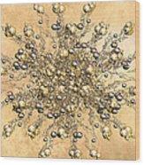 Jewels In The Sand Wood Print