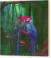 Jewels Of The Jungle Wood Print