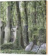 Jewish Cemetery Weissensee Berlin Wood Print