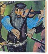 Jewish Klezmer Wood Print