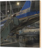 Jfk Air Force One Wood Print