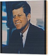 Jfk John F Kennedy Wood Print by Official White House Photo