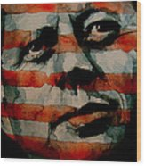 JFK Wood Print by Paul Lovering