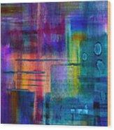 Jibe Joist II Wood Print