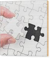 Jigsaw Puzzle Wood Print
