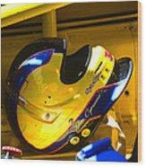 Jim Cipriano's Helmet Wood Print
